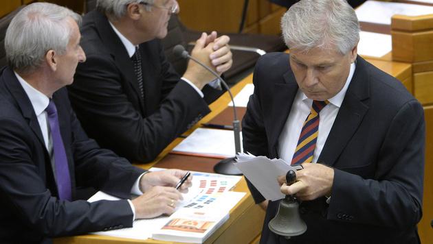 Burgenland: Rot-blaue Regierung offiziell im Amt (Bild: APA/ROBERT JAEGER)