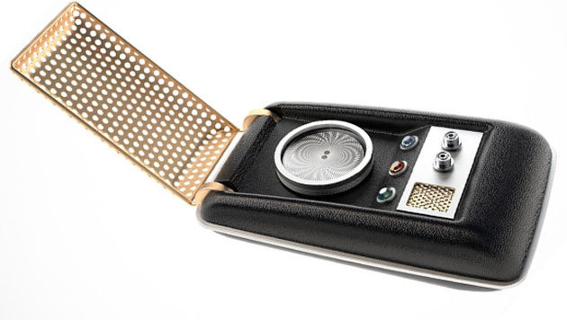"Dieser ""Star Trek""-Kommunikator kann telefonieren (Bild: The Wand Company)"