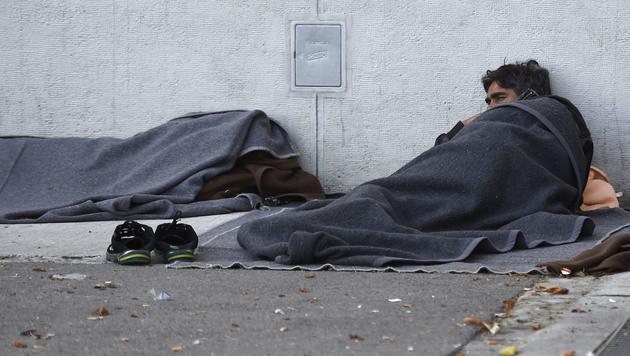 """In Traiskirchen """"stehen alle enorm unter Druck"""" (Bild: APA/HELMUT FOHRINGER)"""