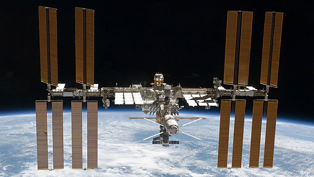 Die Internationale Raumstation ISS (Bild: NASA)