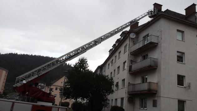 Schwere Unwetter in der Steiermark und in Kärnten (Bild: FF Bruck)