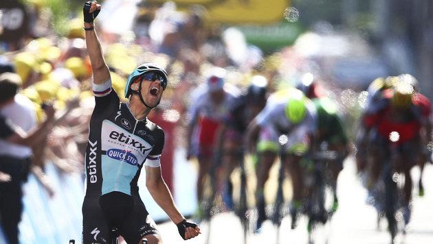 Tour: Stybar gewinnt 6. Etappe, Tony Martin out (Bild: AP)