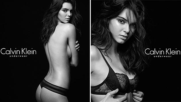 Kendall Jenner zieht sich für Calvin Klein aus. (Bild: instagram.com/kendalljenner)