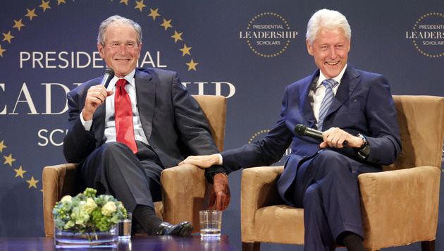 """Die bizarre """"Parallelpräsidentschaft"""" in den USA (Bild: AP)"""
