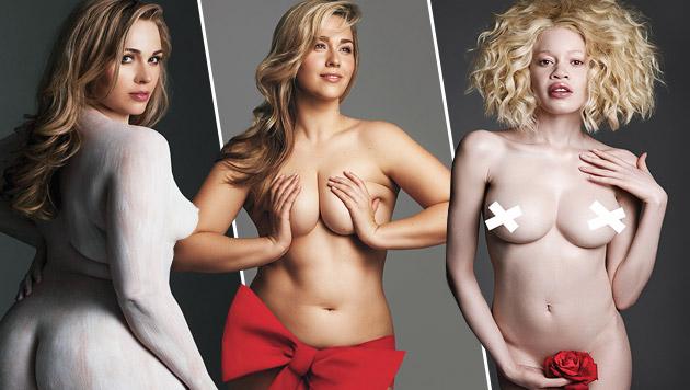 Diese Nacktfotos wurden von Internetnutzern finanziert. (Bild: Victoria Janashvili)