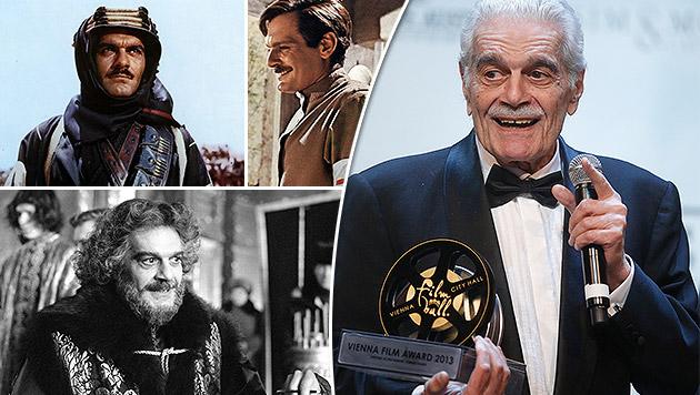 """""""Doktor Schiwago"""" Omar Sharif gestorben (Bild: APA/GEORG HOCHMUTH, Columbia Pictures, Metro-Goldwyn-Mayer, AP)"""