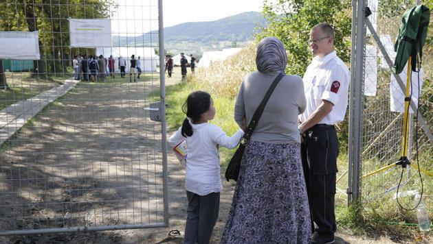 """In Traiskirchen """"stehen alle enorm unter Druck"""" (Bild: Klemens Groh)"""