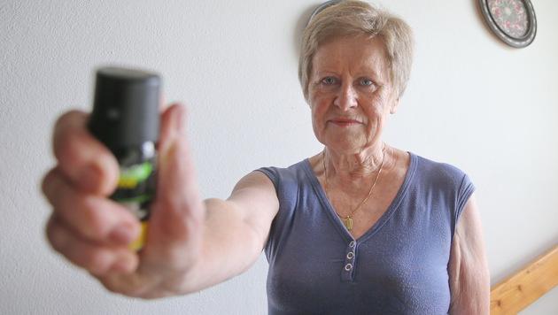 Elfriede L. schlug einen Einbrecher in die Flucht. (Bild: Sepp Pail)