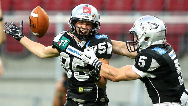 Raiders Tirol gewinnen Austrian Bowl (Bild: GEPA)