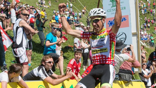 Spanier De La Parte gewinnt Österreich-Rundfahrt (Bild: APA/EXPA/REINHARD EISENBAUER)