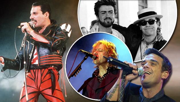 30 Jahre Live Aid: Das größte Rockkonzert (Bild: APA/EPA/picturedesk.com, picturedesk.com/Rex Features, AP)