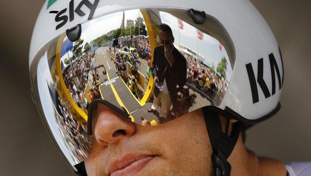 Froome-Edelhelfer Porte verlässt Sky am Saisonende (Bild: APA/EPA/KIM LUDBROOK)