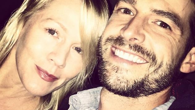 Jennie Garth und ihr Ehemann Dave Abrams (Bild: Viennareport)