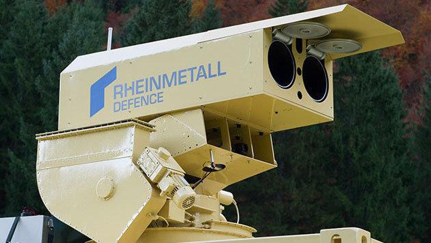 Deutsche Bundeswehr experimentiert mit Laserwaffen (Bild: Rheinmetall Defence)