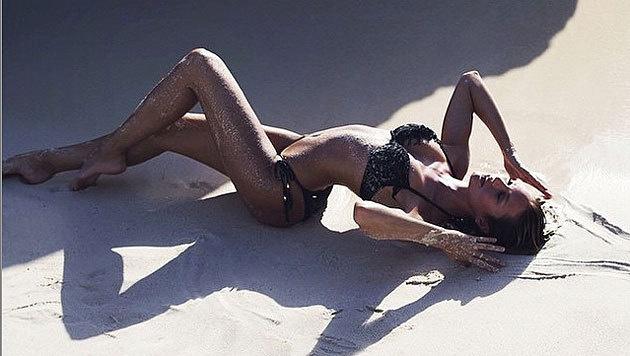 Model Candice Swanepoel (26) verführt mit solchen Bikinifotos auf ihrem Instagram-Account. (Bild: instagram.com/angelcandices)