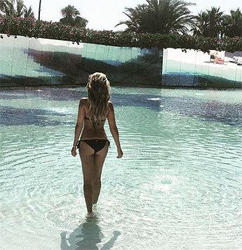 """TV-Star Sylvie Meis (37) postet unter """"1missmeis"""" heiße Bikinipics von sich. (Bild: instagram.com/1misssmeis)"""