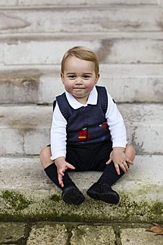 Prinz George ist der Liebling der Briten. (Bild: APA/EPA/TRH The Duke and Duchess)