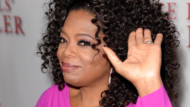 """Oprah Winfrey (61) nahm als Mädchen bei der Wahl der """"Miss Fire Prevention"""" teil und gewann. (Bild: AFP)"""