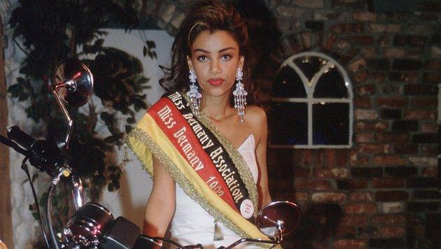 """Diese Dame war in den 1990ern """"Miss Germany"""", später wurde sie deutscher TV-Kultstar. (Bild: MARQUITAN RÜDIGER / Action Press / picturedesk.com)"""