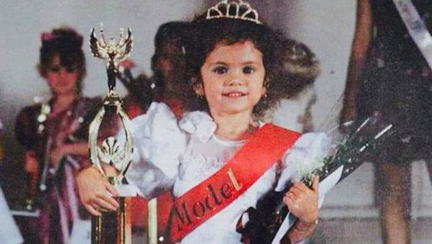 """Diese süße Kleine war dereinst """"Miss Model"""". Aus ihr wurde eine nicht minder hübsche Schauspielerin. (Bild: Viennareport)"""