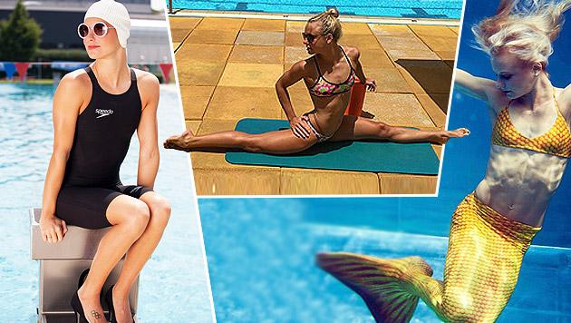 Wow! Lisa Zaisers Luxus-Körper begeistert Olympia! (Bild: facebook.com, GEPA, Karin Cech-Proksch)