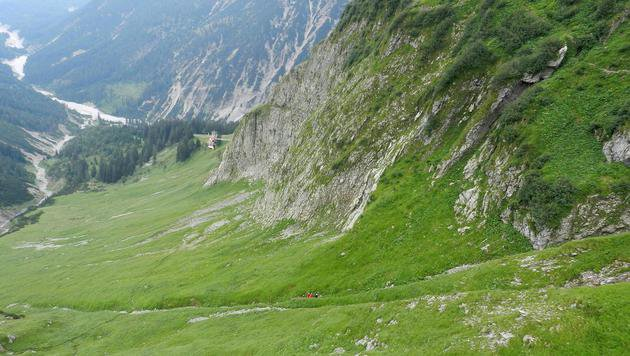 Ein tödliches Alpindrama trug sich auf dem sogenannten Jubiläumsweg zu. (Bild: APA/ZEITUNGSFOTO.AT)