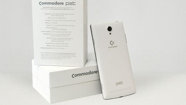 Commodore ist wieder zurück - mit einem Smartphone (Bild: commodoresmart.com)