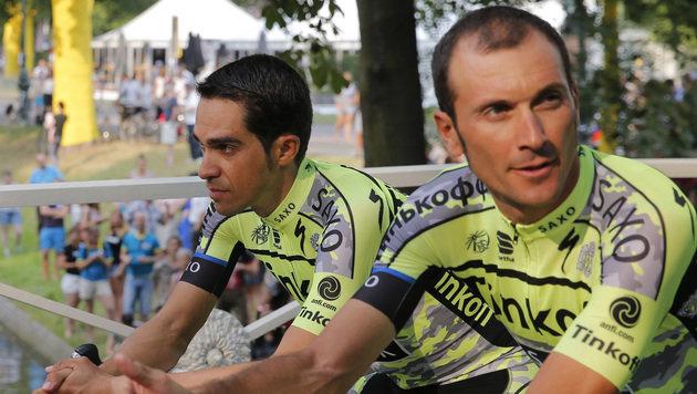 Hoden-OP bei Rad-Star Basso erfolgreich verlaufen (Bild: AP)