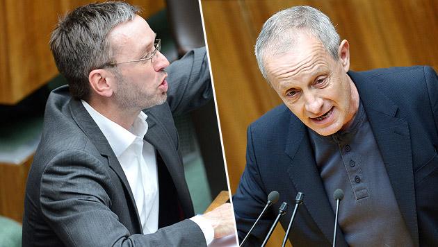 Pilz: FPÖ soll in Causa Kickl alles offenlegen (Bild: APA/ROBERT JAEGER, APA/GEORG HOCHMUTH)