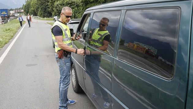 Schleierfahnder im Kampf gegen die Schleppermafia (Bild: MARKUS TSCHEPP)