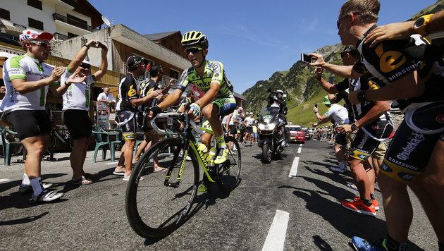 Tour de France: Pole Majka gewann Pyrenäen-Etappe (Bild: APA/EPA/KIM LUDBROOK)