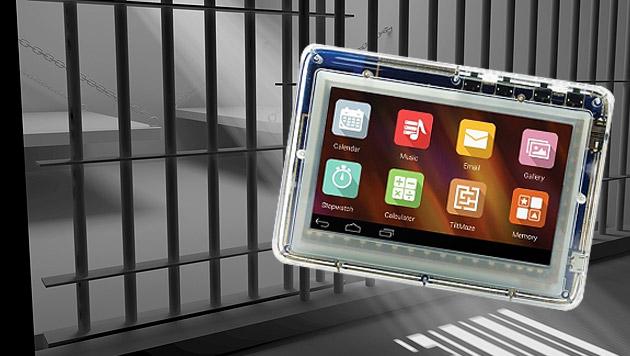 US-Gefangene kriegen spezielles Häfn-Tablet (Bild: thinkstockfotos.de, JPay)