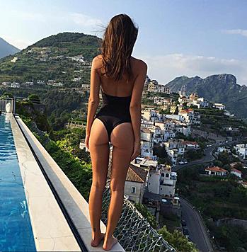 Wer zeigt denn da die schöne Aussicht auf - ähm - POsitano? (Bild: Viennareport)