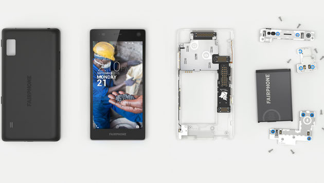 Fairphone 2: Human gefertigtes Handy vorbestellbar (Bild: fairphone.com)