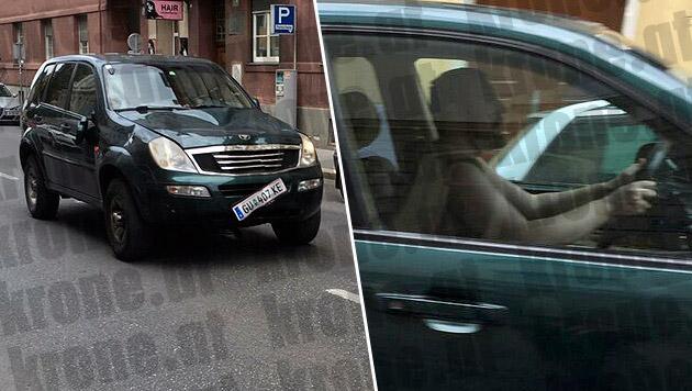 """Grazer Amokfahrer bleibt in U-Haft (Bild: """"Krone"""")"""