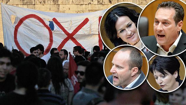 Griechenland-Hilfe: Opposition legt sich quer (Bild: APA/EPA/ORESTIS PANAGIOTOU, APA/ROLAND SCHLAGER)