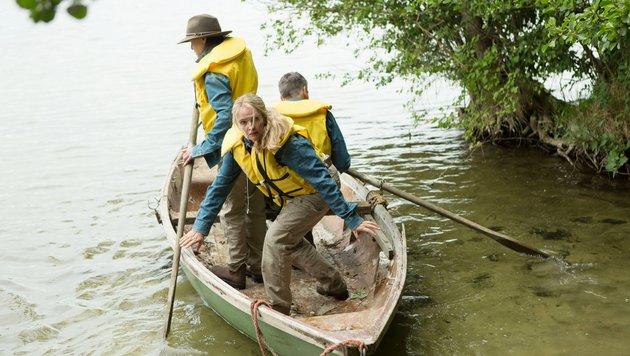 """Barbara Engel, Eike Immel und Julia Biedermann bestreiten die 2. Show. (Bild: Mission """"Gruselmission"""" mit Barb)"""