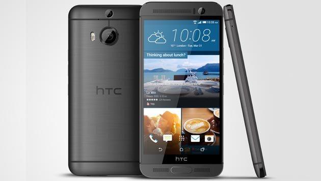 One M9+: Edel-Handy von HTC bald in Österreich (Bild: HTC)