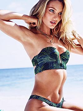Klar, diese Rückansicht kann nur einer gehören: Victoria's-Secret-Engerl Candice Swanepoel. (Bild: Viennareport)