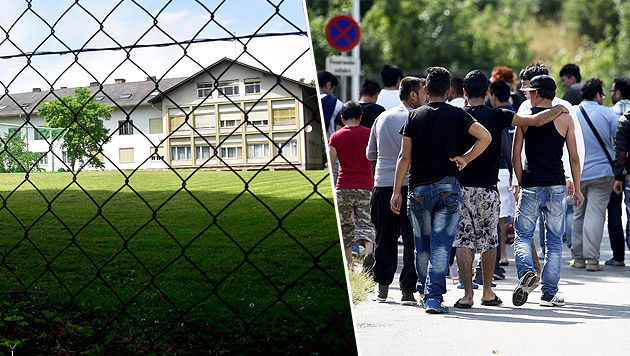Steirische Kaserne wird Asyl-Verteilerzentrum (Bild: Ricardo)