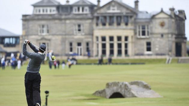 Tiger Woods miserabel! Wiesberger noch verhalten (Bild: APA/EPA/FACUNDO ARRIZABALAGA)
