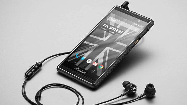 Marshall London: Smartphone für Musik-Fans kommt (Bild: Marshall)