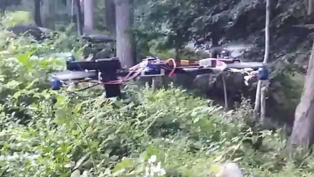US-Staat möchte Pistolen-Drohnen verbieten (Bild: YouTube.com/Hogwit)
