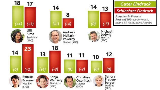 Umfrage: Wiener befürchten brutalen Wahlkampf (Bild: Krone Grafik)