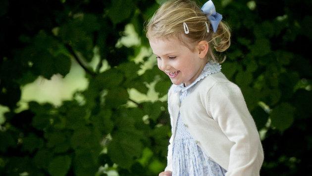 Prinzessin Estelle gilt als eines der fröhlichsten Königskinder Europas. (Bild: Viennareport)