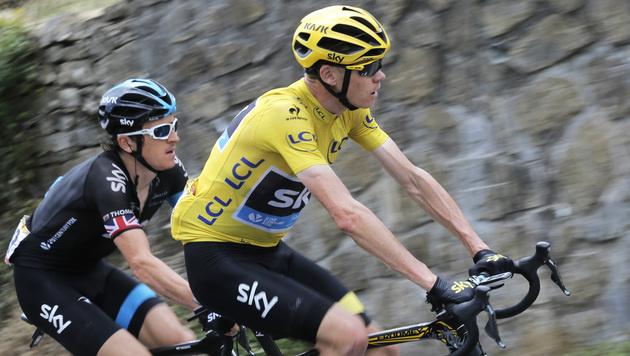 Chris Froome: Sportphysiologe zweifelt Leistung an (Bild: AP)