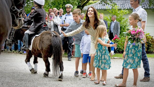 Die dänische Königsfamilie verbringt den Sommer auf Schloss Grasten. (Bild: Viennareport)
