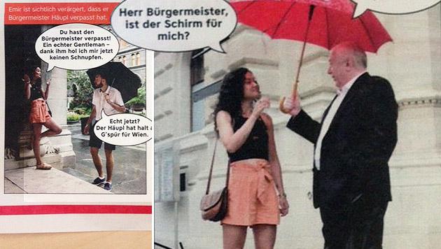 """Netz lacht über """"Foto-Lovestory"""" der Wiener SPÖ (Bild: twitter.com)"""