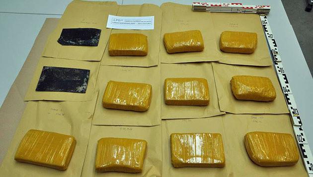 Der Reinheitsgehalt des Heroins wird noch überprüft. (Bild: LPD Salzburg)