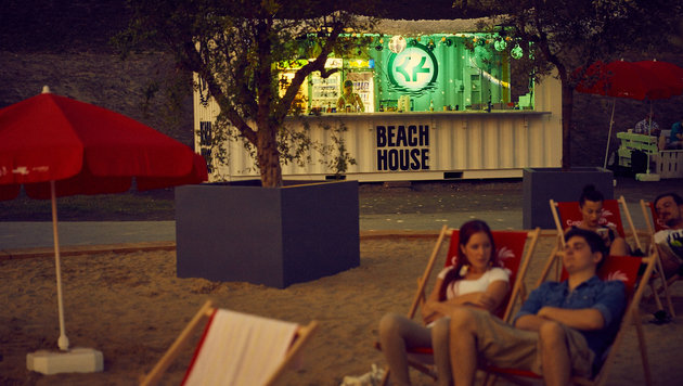 """Chillen in der Sonne: Beach-Clubs im Test (Bild: Robert Pichler)"""